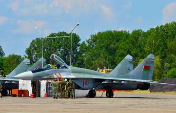 14 - Belarus - Air Force Mikoyan-Gurevich MiG-29