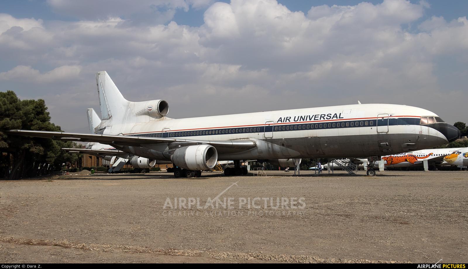 Air Universal 9L-LDE aircraft at Tehran - Mehrabad Intl