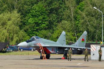 45 - Belarus - Air Force Mikoyan-Gurevich MiG-29
