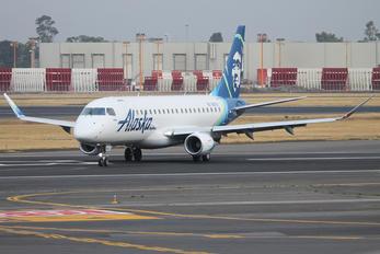 N187SY - Alaska Airlines - Skywest Embraer ERJ-175 (170-200)