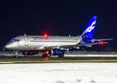 RA-89108 - Aeroflot Sukhoi Superjet 100 aircraft