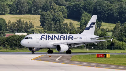 OH-LVG - Finnair Airbus A319