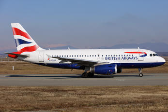 G-EUPG - British Airways Airbus A319