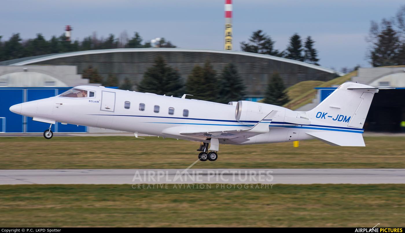 ABS Jets OK-JDM aircraft at Pardubice