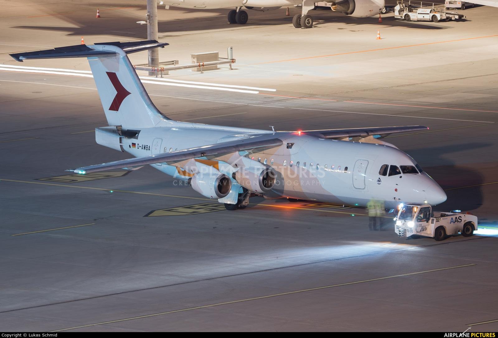 WDL D-AWBA aircraft at Zurich