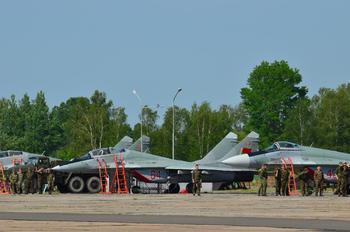 64 - Belarus - Air Force Mikoyan-Gurevich MiG-29UB