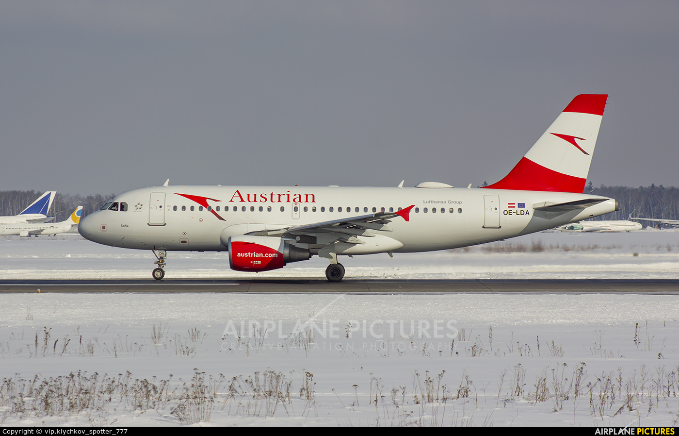 Austrian Airlines/Arrows/Tyrolean OE-LDA aircraft at Moscow - Domodedovo