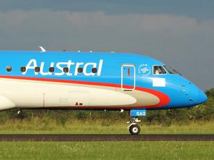 LV-GAQ - Austral Lineas Aereas Embraer ERJ-190 (190-100)