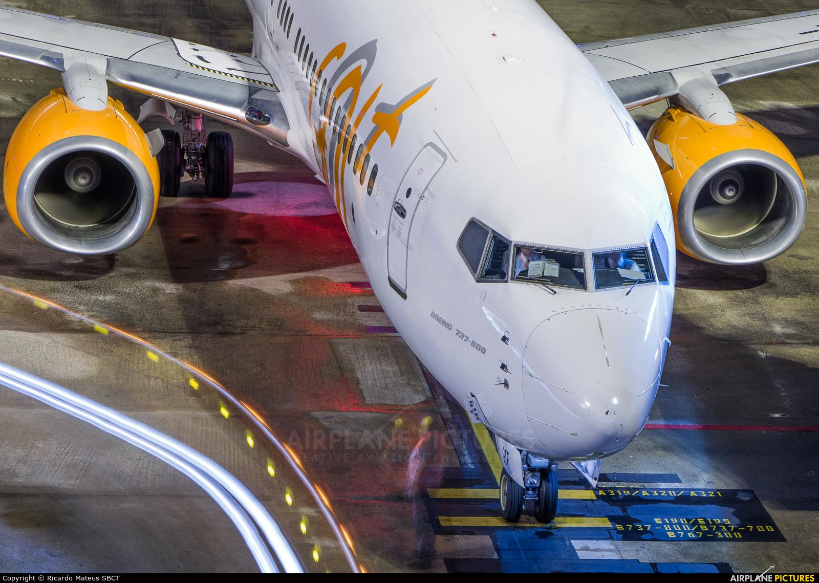 GOL Transportes Aéreos  PR-GTF aircraft at Curitiba -  Afonso Pena