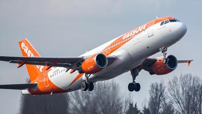 G-EZUK - easyJet Airbus A320