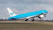 PH-BQK - KLM Boeing 777-200ER aircraft