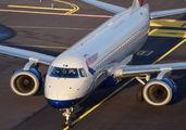 G-LCYW - British Airways - City Flyer Embraer ERJ-190 (190-100) aircraft