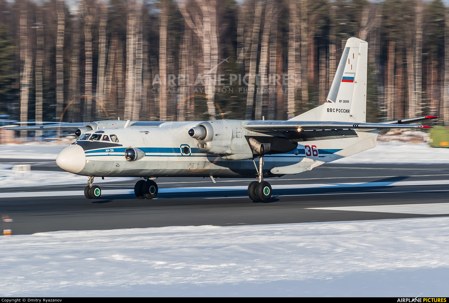 Russia - Air Force RF-36009 aircraft at Undisclosed Location