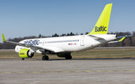 YL-CSE - Air Baltic Bombardier CS300 aircraft