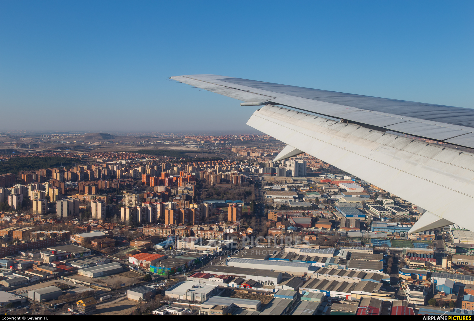 British Airways G-BZHA aircraft at In Flight - Spain