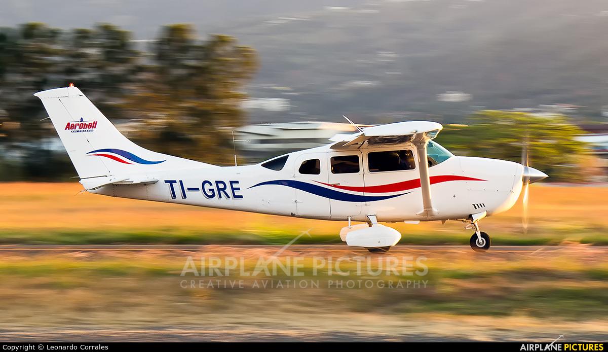 Aerobell Air Charter  TI-GRE aircraft at San Jose - Tobías Bolaños Intl