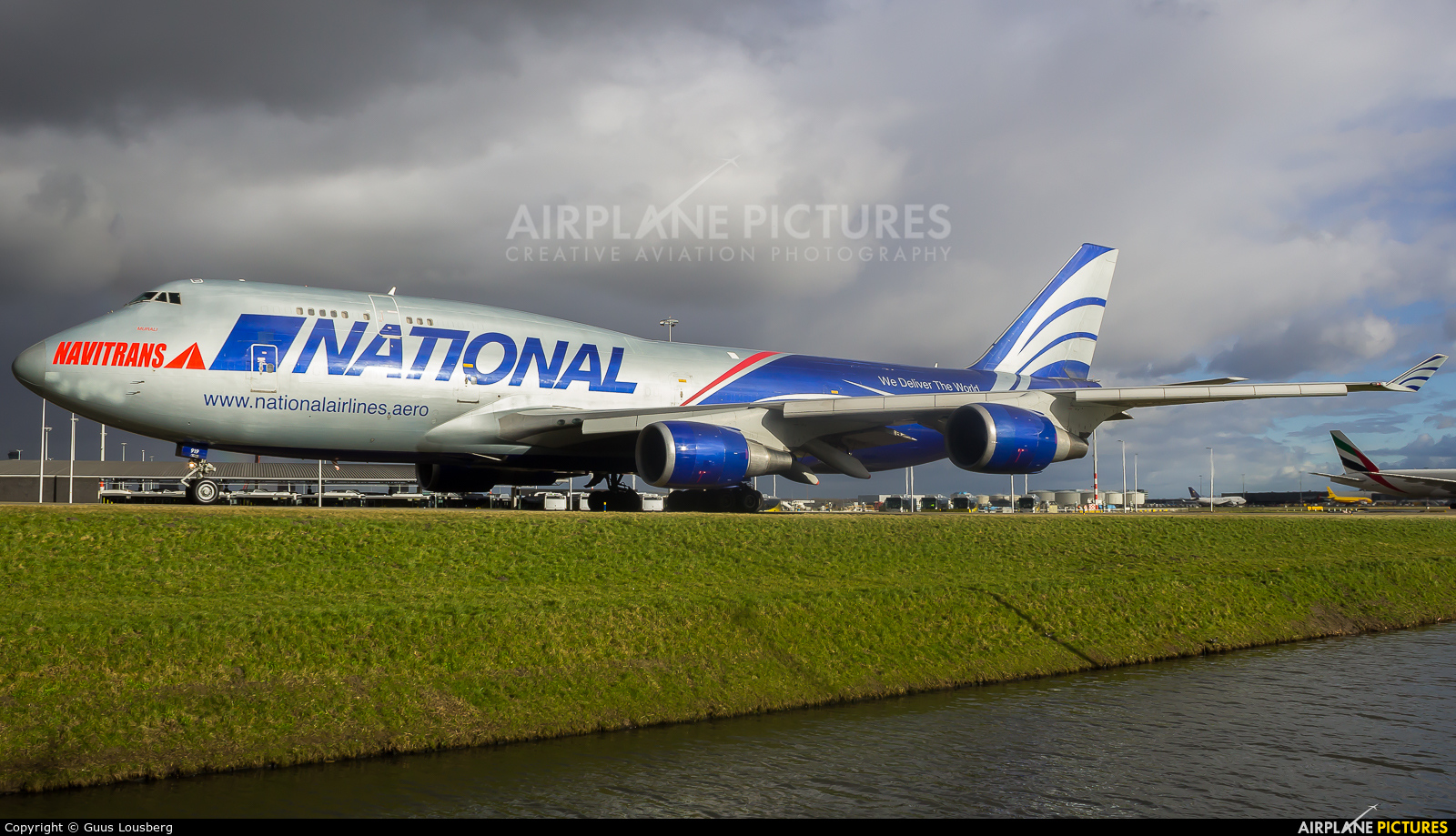 National Airlines N919CA aircraft at Amsterdam - Schiphol