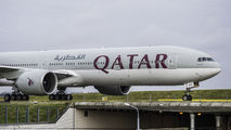 A7-BAU - Qatar Airways Boeing 777-300ER aircraft