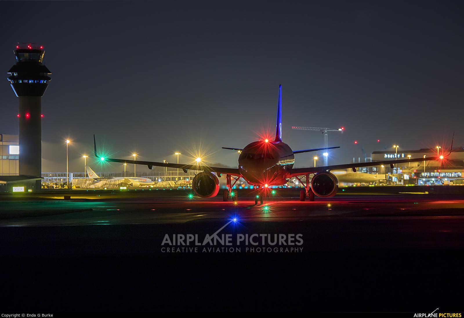 SAS - Scandinavian Airlines LN-RGM aircraft at Manchester