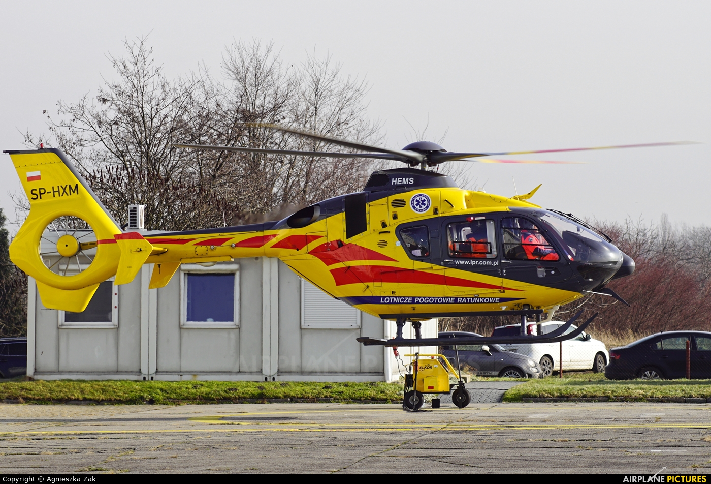 Polish Medical Air Rescue - Lotnicze Pogotowie Ratunkowe SP-HXM aircraft at Gliwice