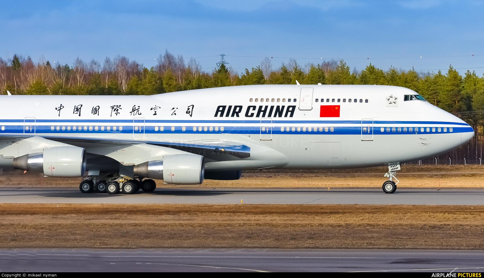 Air China B-2472 aircraft at Helsinki - Vantaa