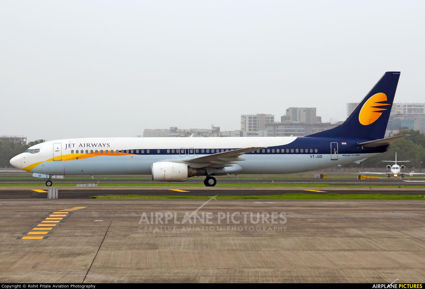Jet Airways VT-JGD aircraft at Mumbai - Chhatrapati Shivaji Intl