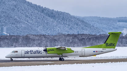 YL-BBV - Air Baltic de Havilland Canada DHC-8-400Q / Bombardier Q400