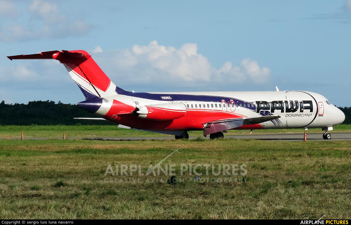 PAWA Dominicana HI965 aircraft at Santo Domingo - Aeropuerto de las Americas