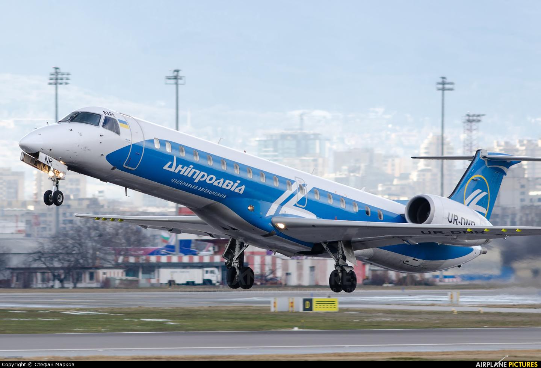 Dniproavia UR-DNR aircraft at Sofia