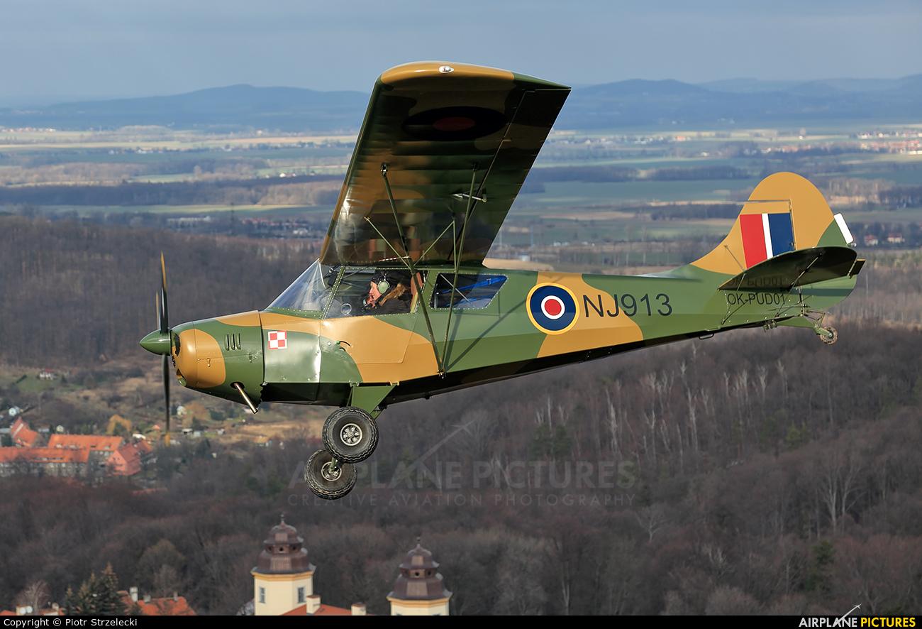 Private OK-PUD01 aircraft at Świebodzice