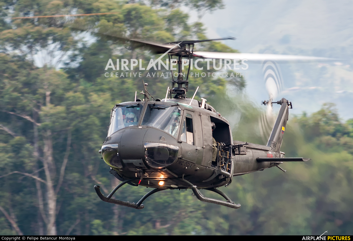 Colombia - Police PNC-0724 aircraft at Medellin - Olaya Herrera