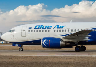 YR-AMA - Blue Air Boeing 737-500