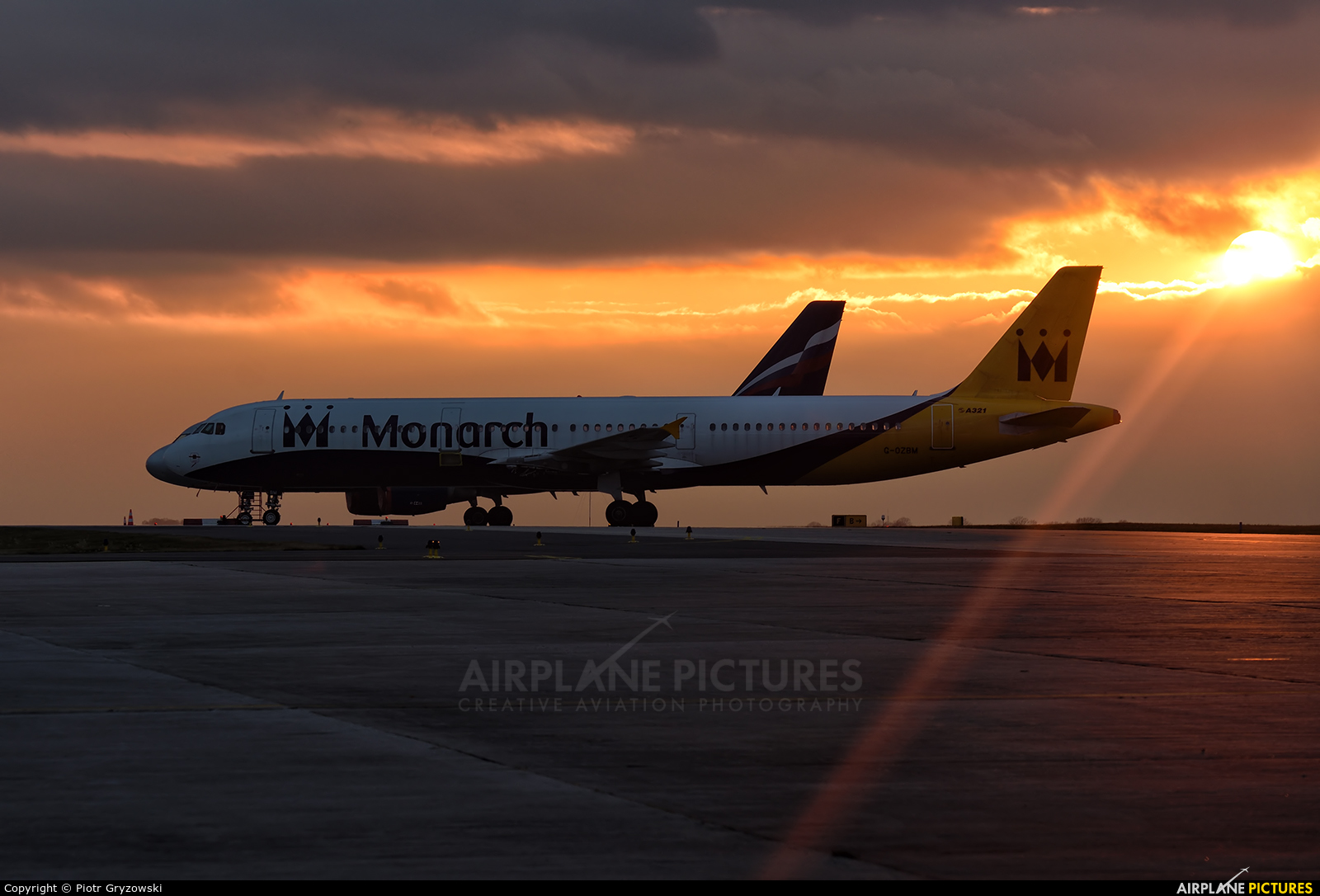 Monarch Airlines G OZBM Aircraft At Ostrava Mosnov Request Photo Usage