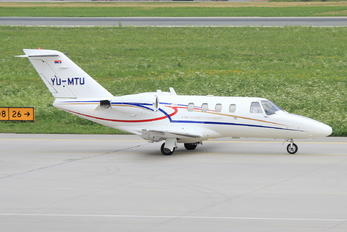 YU-MTU - John Naisbitt University Cessna 525 CitationJet