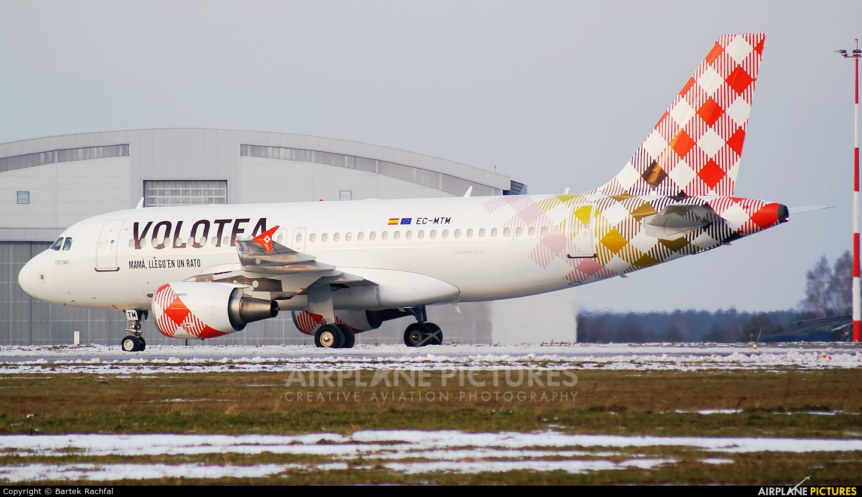 Volotea Airlines EC-MTM aircraft at Rzeszów-Jasionka