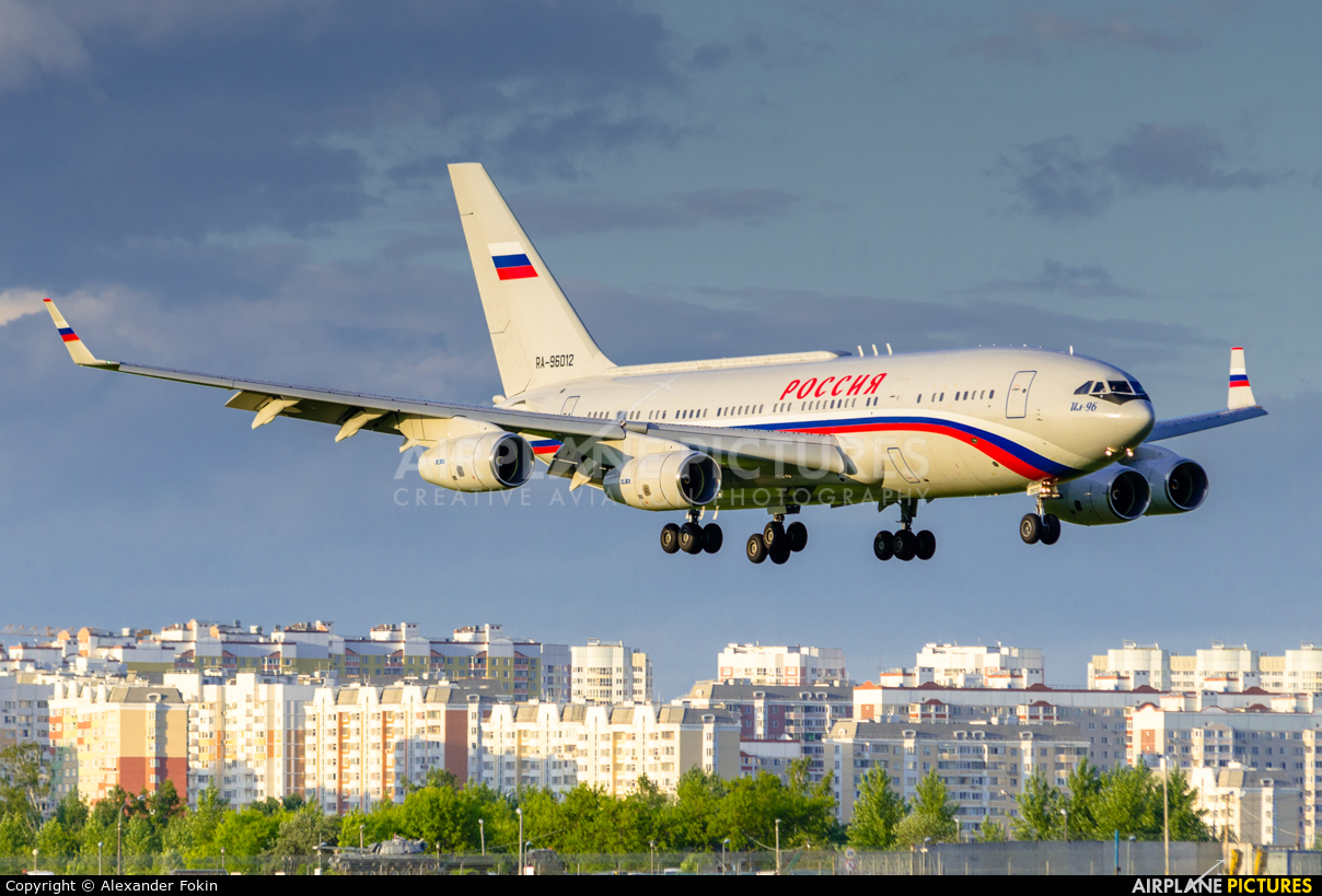 Rossiya RA-96012 aircraft at Moscow - Vnukovo