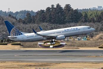N37298 - United Airlines Boeing 737-800