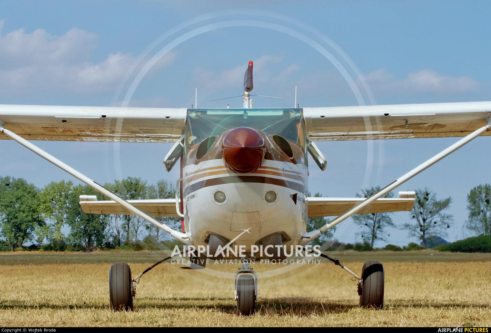 Private SP-ASG aircraft at Wrocław - Szymanów