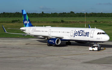 N907JB - JetBlue Airways Airbus A321