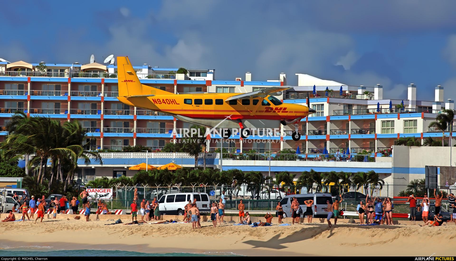 DHL Cargo N940HL aircraft at Sint Maarten - Princess Juliana Intl