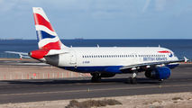 G-EUUR - British Airways Airbus A320 aircraft