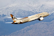 A6-BLK - Etihad Airways Boeing 787-9 Dreamliner aircraft