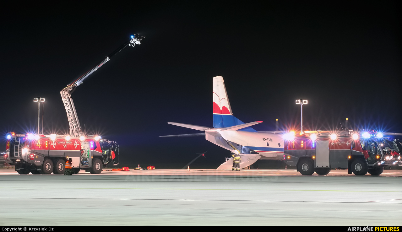 Exin SP-FDR aircraft at Katowice - Pyrzowice