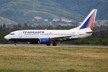 EI-EUZ - Transaero Airlines Boeing 737-700