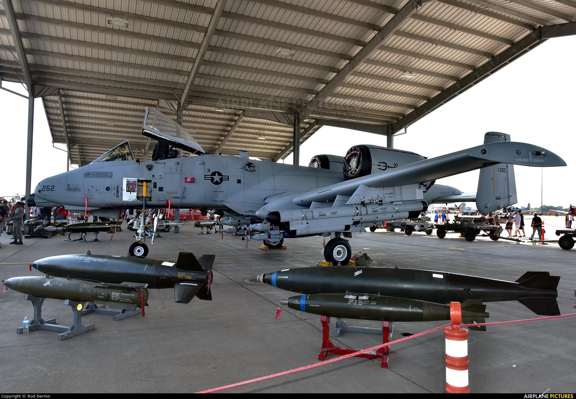 USA - Air Force 80-0262 aircraft at Selfridge ANGB