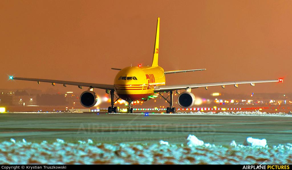 DHL Cargo D-AEAI aircraft at Warsaw - Frederic Chopin