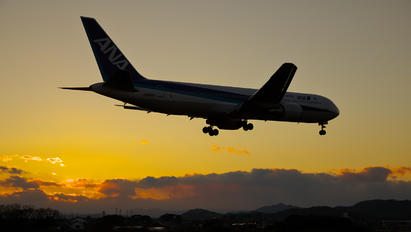 JA8342 - ANA - All Nippon Airways - Airport Overview - Photography Location