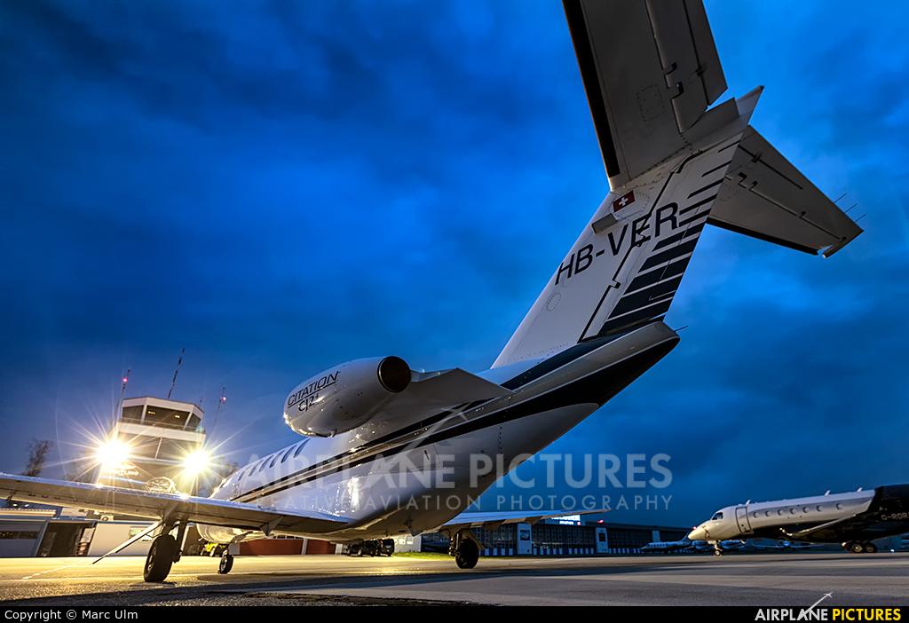 Swiss Private Flights HB-VER aircraft at St. Gallen - Altenrhein