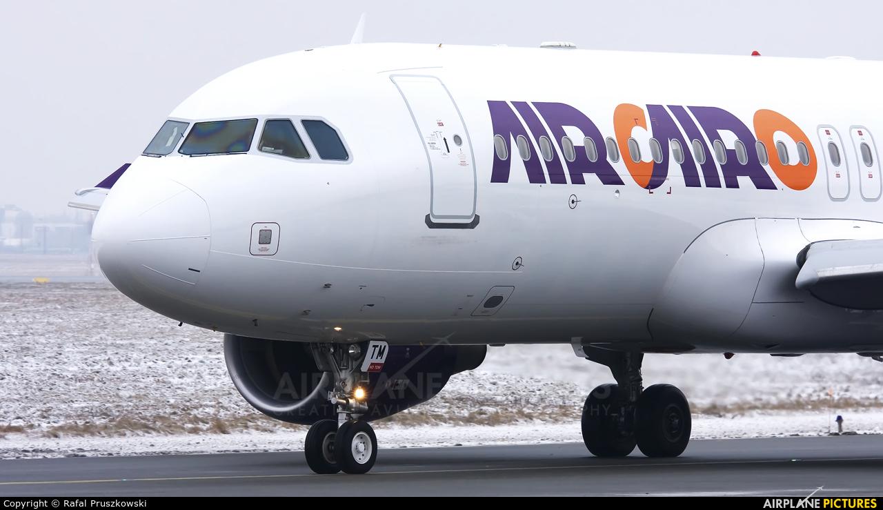 Air Cairo SU-BTM aircraft at Warsaw - Frederic Chopin