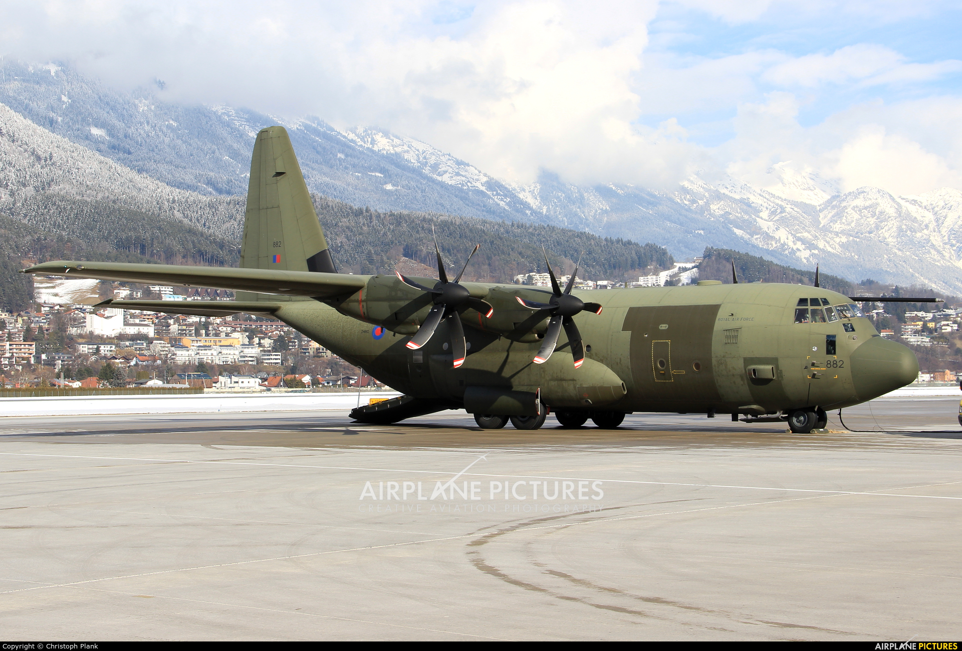 Royal Air Force ZH882 aircraft at Innsbruck